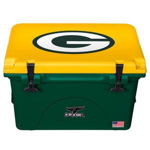 Green Bay Packers - 40 Quart ORCA Coolers