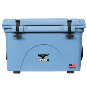 Light Blue 40 Quart Cooler