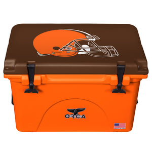 Cleveland Browns - 40 Quart ORCA Coolers