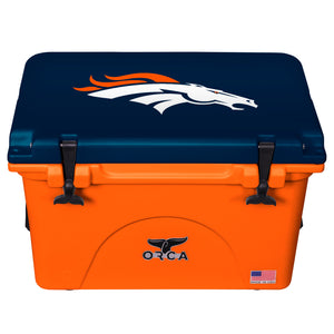 Denver Broncos - 40 Quart ORCA Cooler