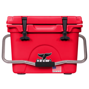 Red 20 Quart Cooler