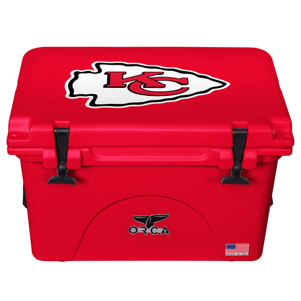 Kansas City Cheifs - 40 Quart ORCA Coolers