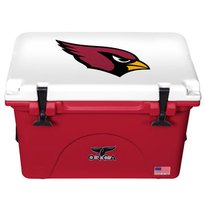 Arizona Cardinals- 40 Quart ORCA Coolers