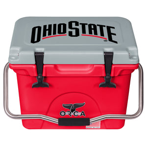 The Ohio State Buckeyes  - 20 Quart ORCA Cooler