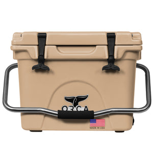 Tan 20 Quart Cooler