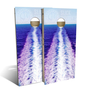 Ocean Wake Cornhole Board Set