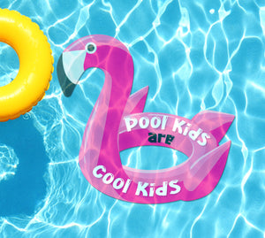 Pool Kids Are Cool Kids Underwater Pool Mat Tattoo