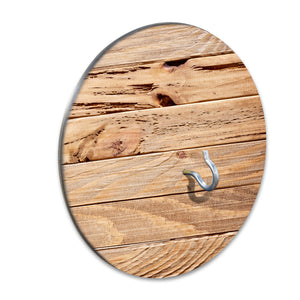 Country Living Hook & Ring Game with Rustic Ash Wood Design