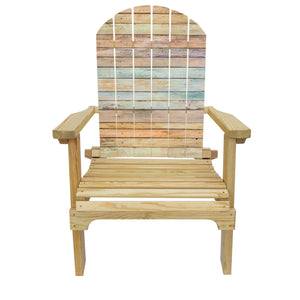 Country Living Summer Wood Adirondack Chair