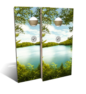 Summer Lake Cornhole Board Set