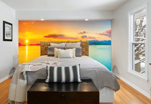 Sunrise Accent Wall