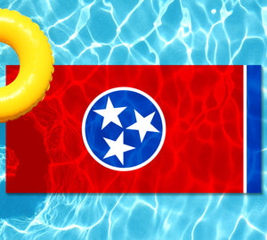 Tennessee State Flag Pool Tattoo