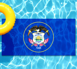 Utah State Flag Underwater Pool Mat