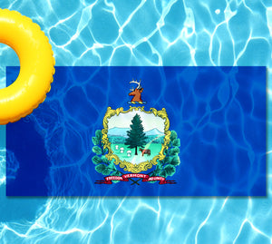 Vermont State Flag Pool Tattoo