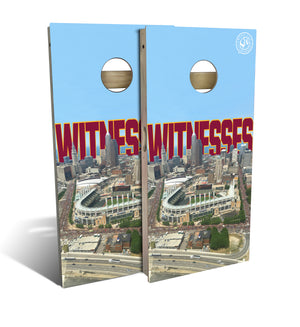 Witnesses Parade Cornhole Board Set