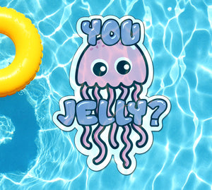 You Jelly Underwater Pool Mat Tattoo