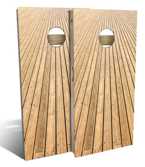 Board Walk Cornhole Board Set (includes 8 bags)