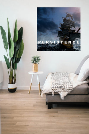 Persistence Sailor Wall Sticker