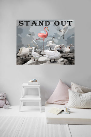 Stand Out Wall Sticker