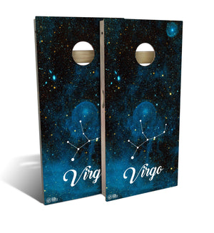 Virgo Cornhole Board Set (includes 8 bags)
