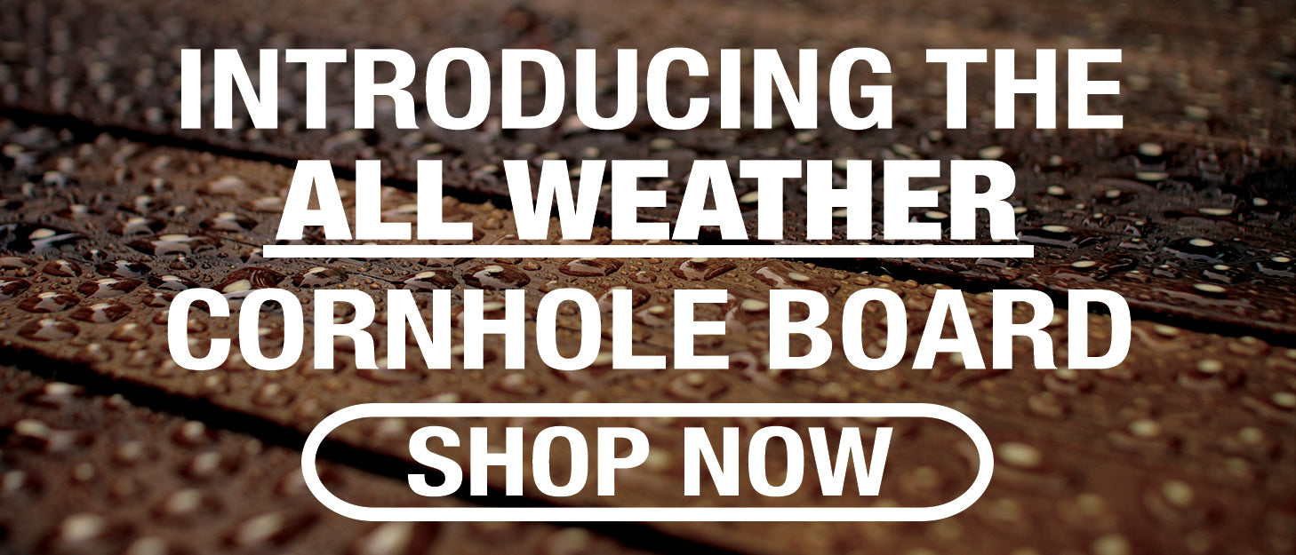 All Weather Cornhole Board