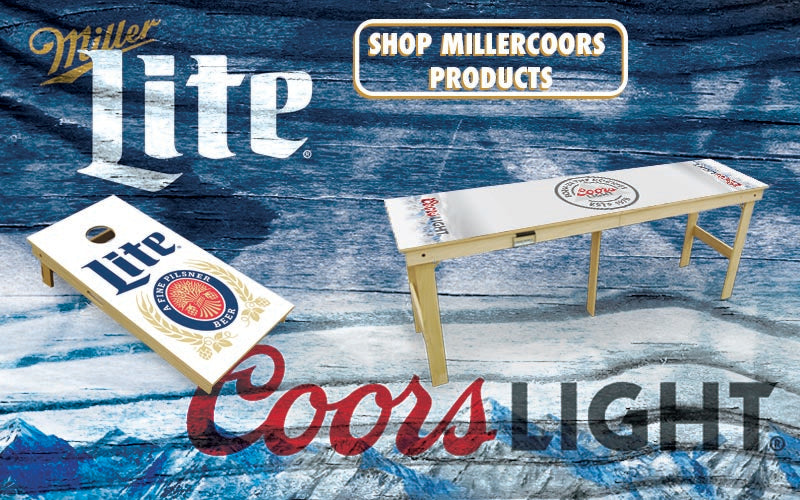 Miller Coors Slick Woody's Cornhole