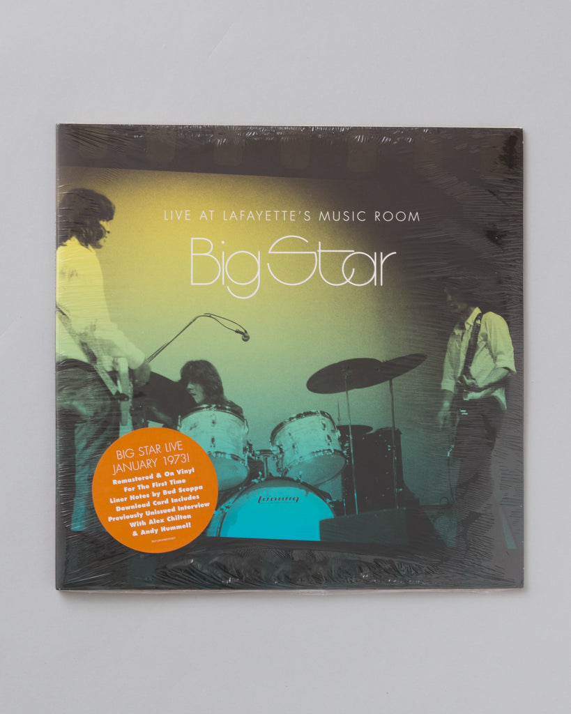Big Star: Live at Lafayette's Music Room (LP)