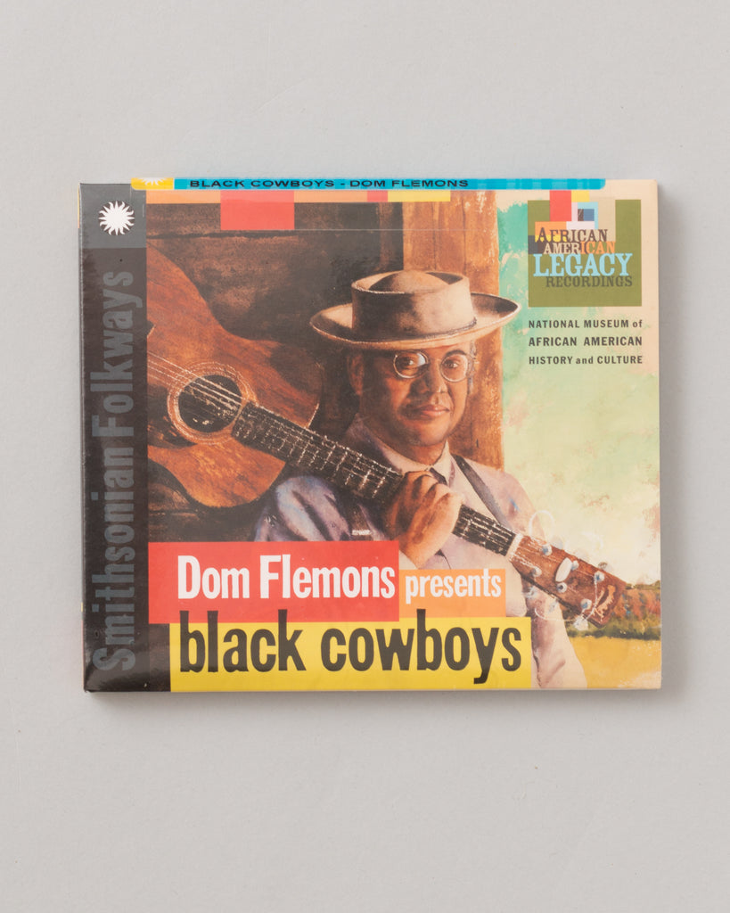 Dom Flemons presents Black Cowboys (CD)
