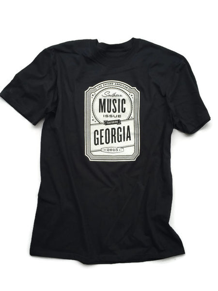 Oxford American Georgia Music T-Shirt