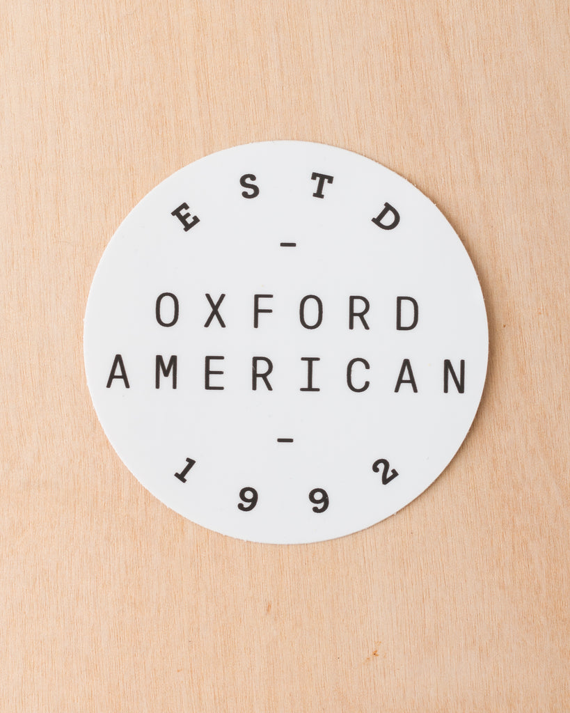 Oxford American Logo Sticker