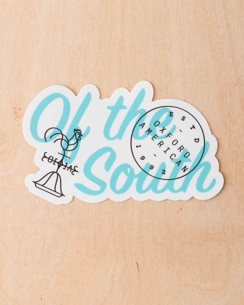 """Of The South"" Die-Cut Sticker"
