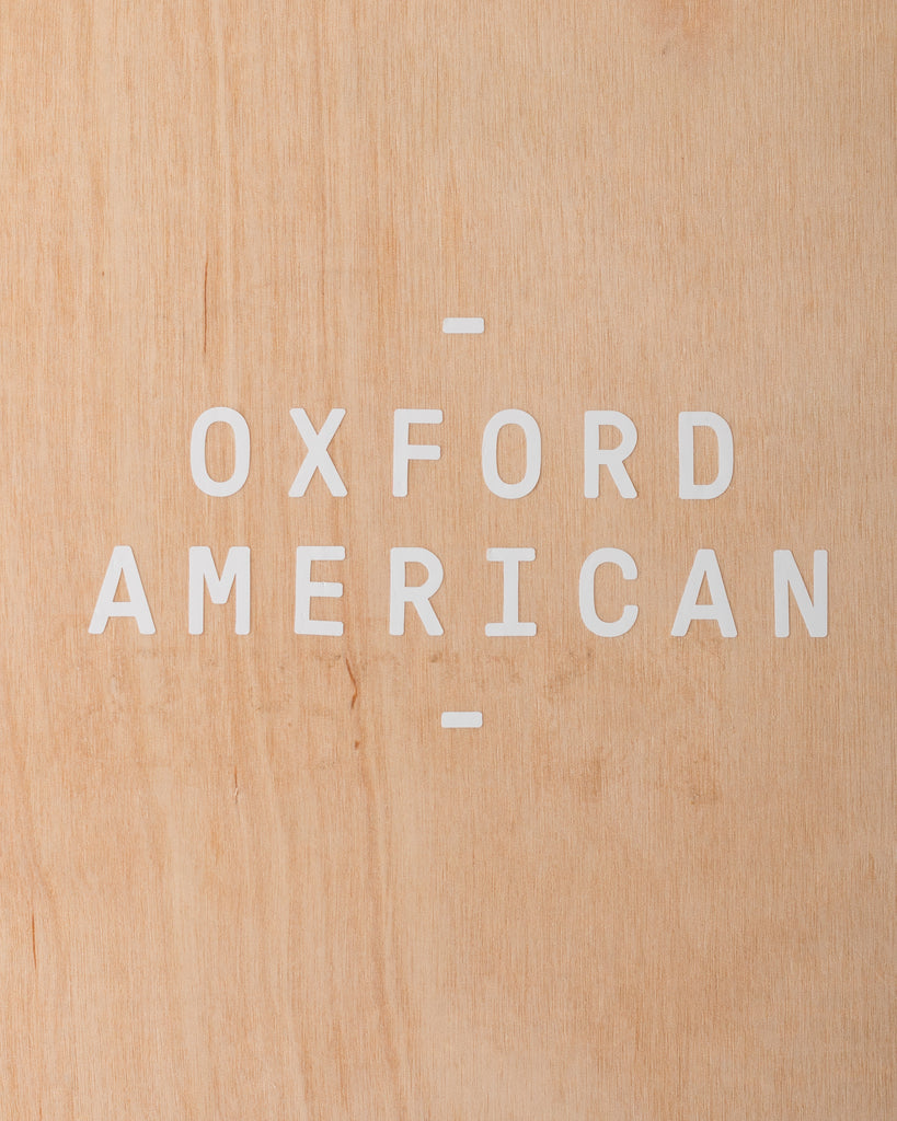 Oxford American Window Decal