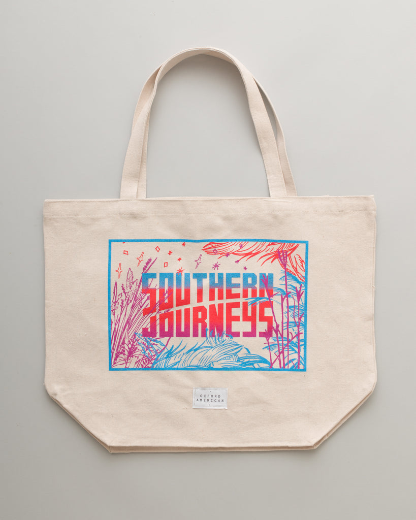 The Southern Journeys Beach Tote Bag
