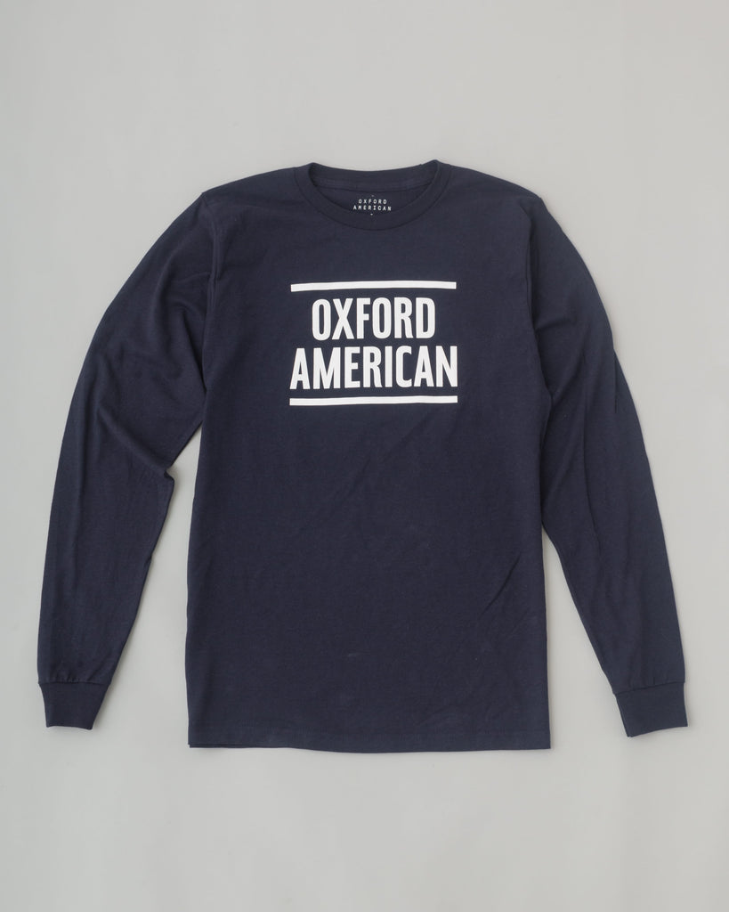 Unisex New Logo Longsleeve T-Shirt - Navy Blue