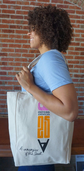Oxford American 25th Anniversary Tote
