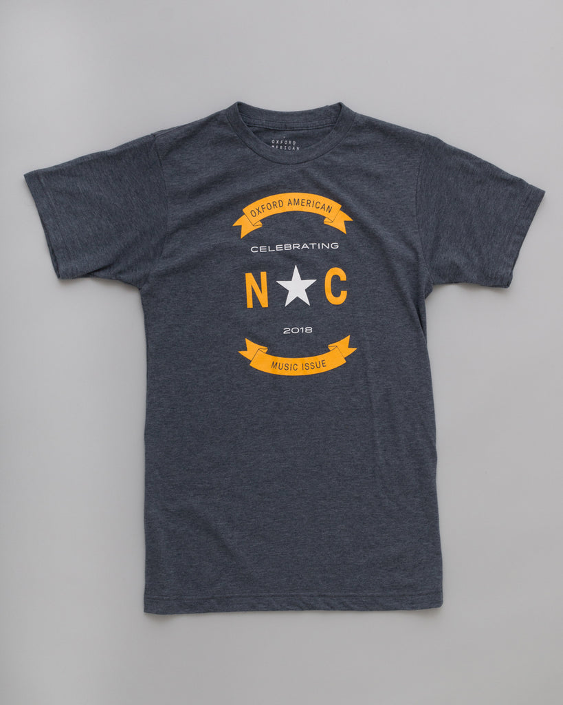 Unisex North Carolina Music Issue T-Shirt - Heather Navy