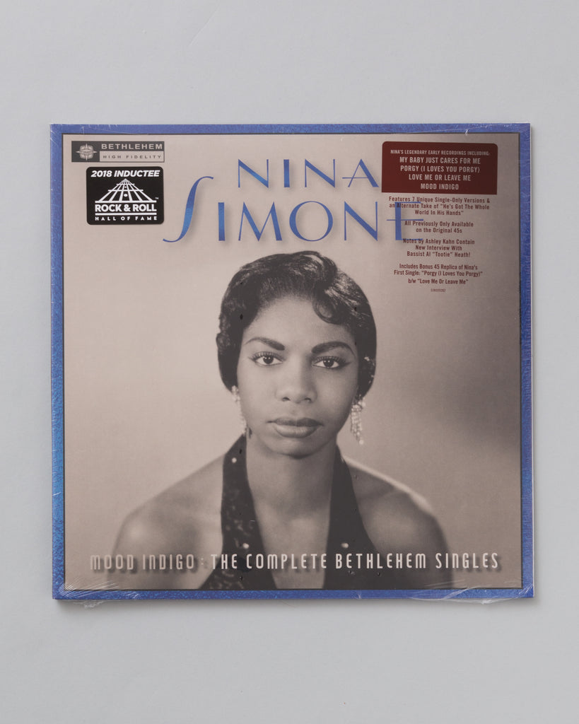 Mood Indigo: The Complete Bethlehem Singles by Nina Simone (LP)