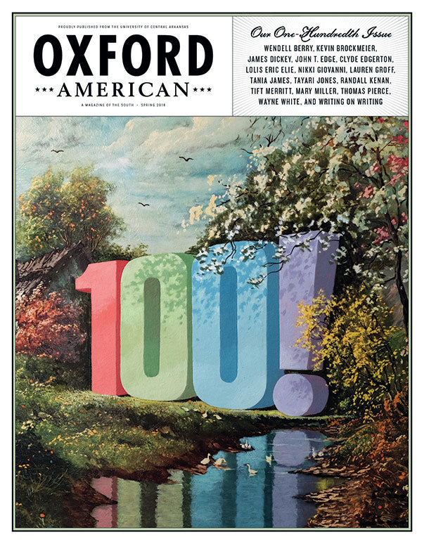 Issue 100: Spring 2018 Cover Poster
