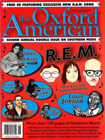 Issue 21/22: 2nd Annual Southern Music Issue & CD -- SOLD OUT