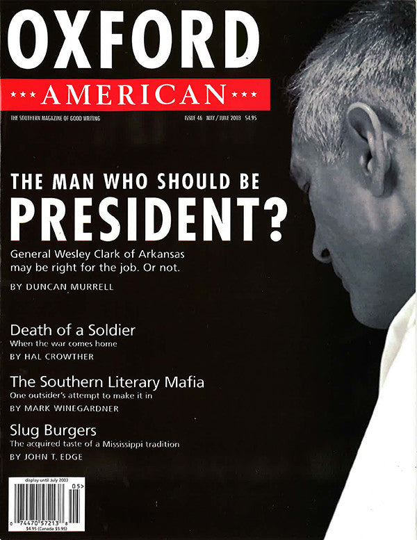 Issue 46: The Man Who Should be President?