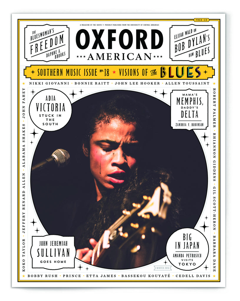 Blues Music Issue Cover Poster — Adia Victoria