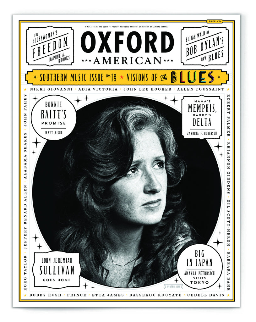 Issue 95: 18th Annual Southern Music Issue & CD — The Blues — Bonnie Raitt Cover