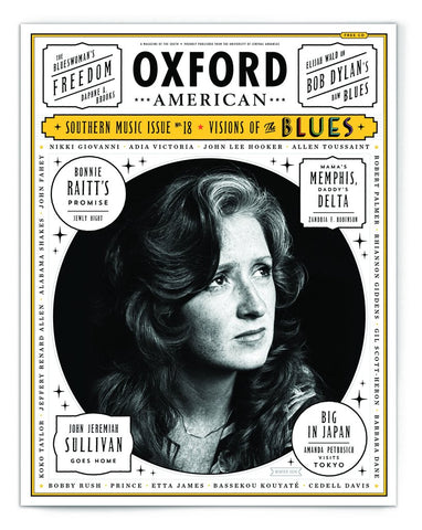 Blues Music Issue Cover Poster — Bonnie Raitt