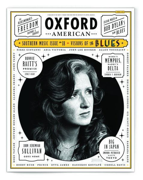 Issue 95: 2016 Southern Music Issue & CD — The Blues — Bonnie Raitt Cover
