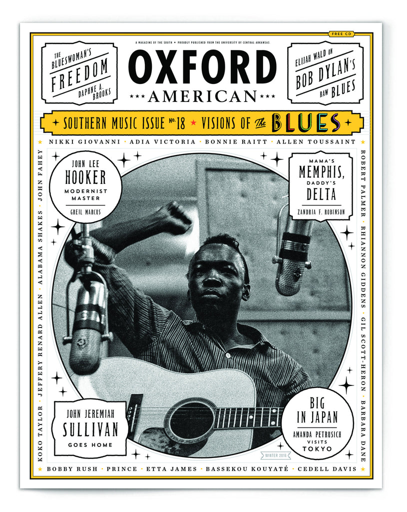 Issue 95: 18th Annual Southern Music Issue & CD — The Blues — John Lee Hooker Cover