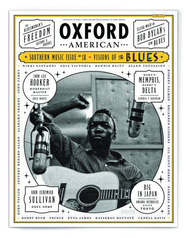 Blues Music Issue Cover Poster — John Lee Hooker