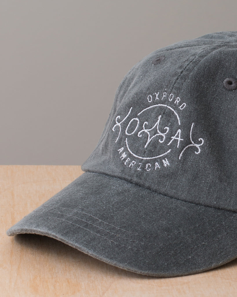 Monogram Logo Baseball Cap - Washed Grey