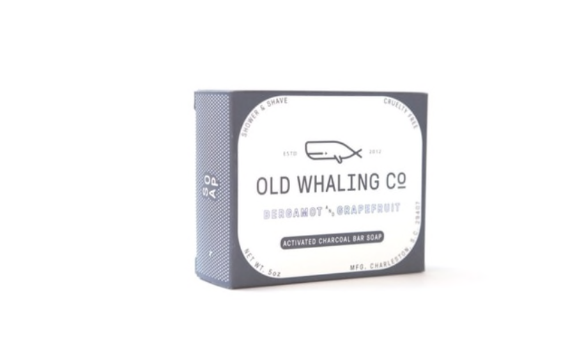 Old Whaling Co. Bar Soap - Bergamont + Grapefruit