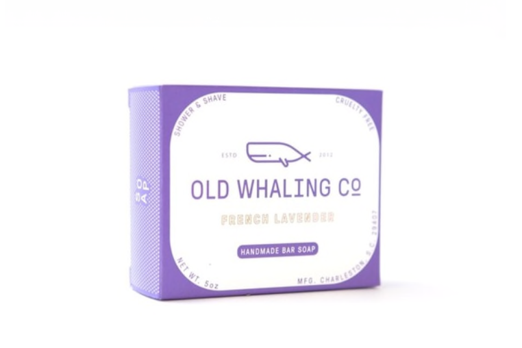 Old Whaling Co. Bar Soap - French Lavender