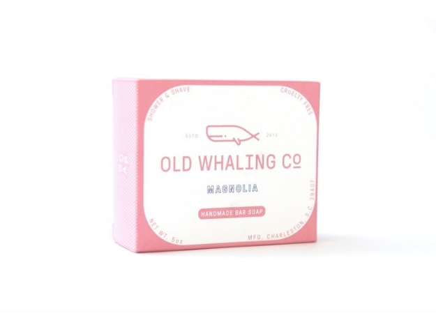 Old Whaling Co. Bar Soap - Magnolia
